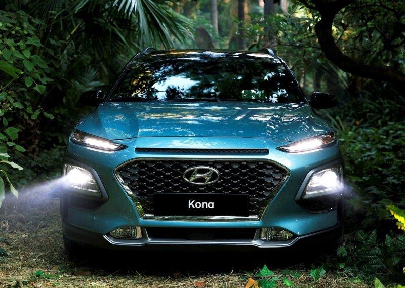 Hyundai Kona - фото из реальности