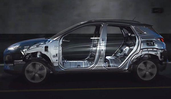 Интерьер Hyundai Kona