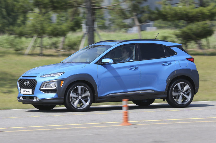 Hyundai Kona на рынке