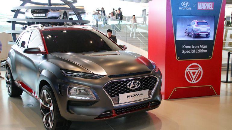 Миникроссовер Hyundai Kona