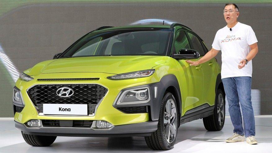 Новый концепт Hyundai Kona