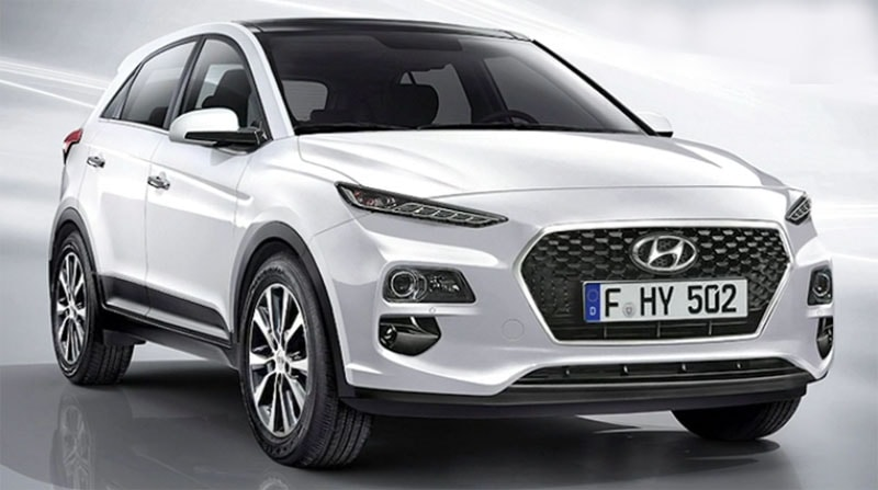 Электрический кроссовер Hyundai Kona EV