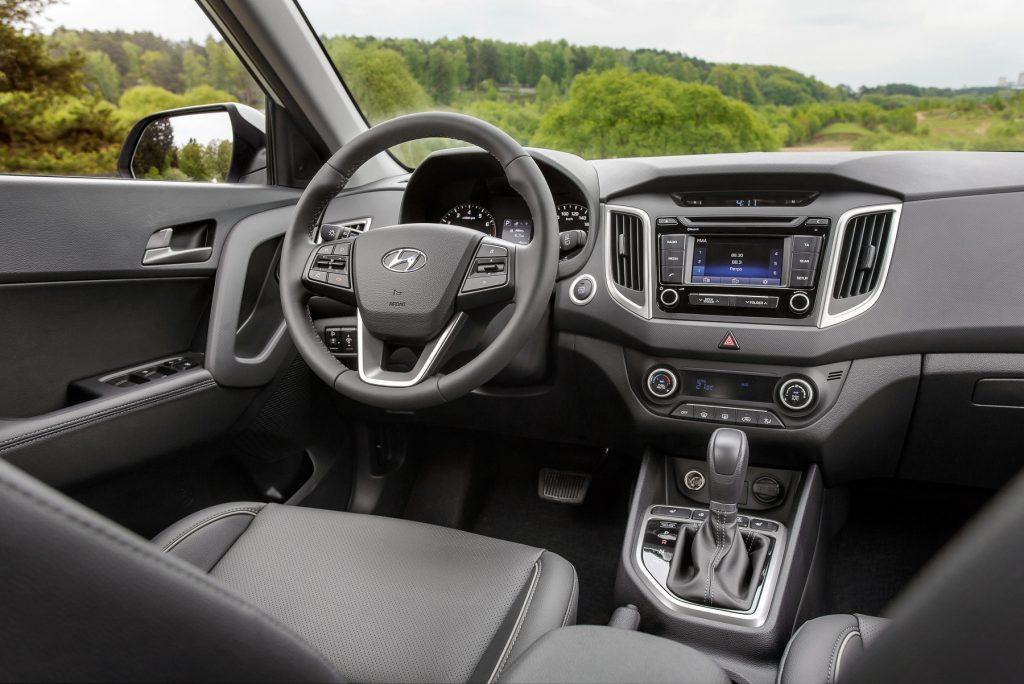 Интерьер Hyundai Сreta
