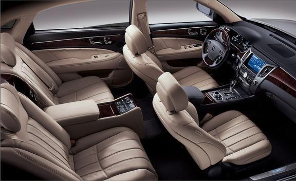 Технические характеристики Hyundai Equus