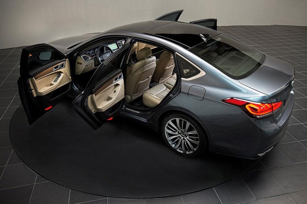 Экстерьер Hyundai Genesis