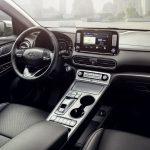 Интерьер Hyundai Kona Electric 2019