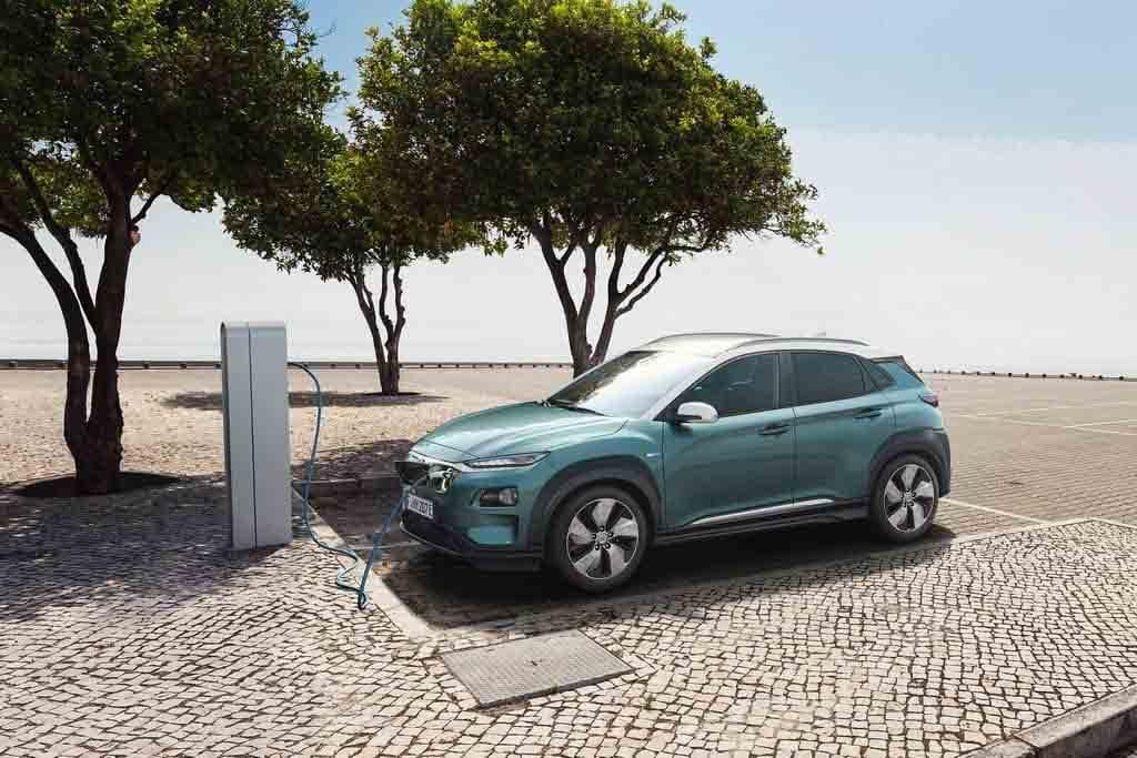 Современная модель электрической Hyundai Kona Electric